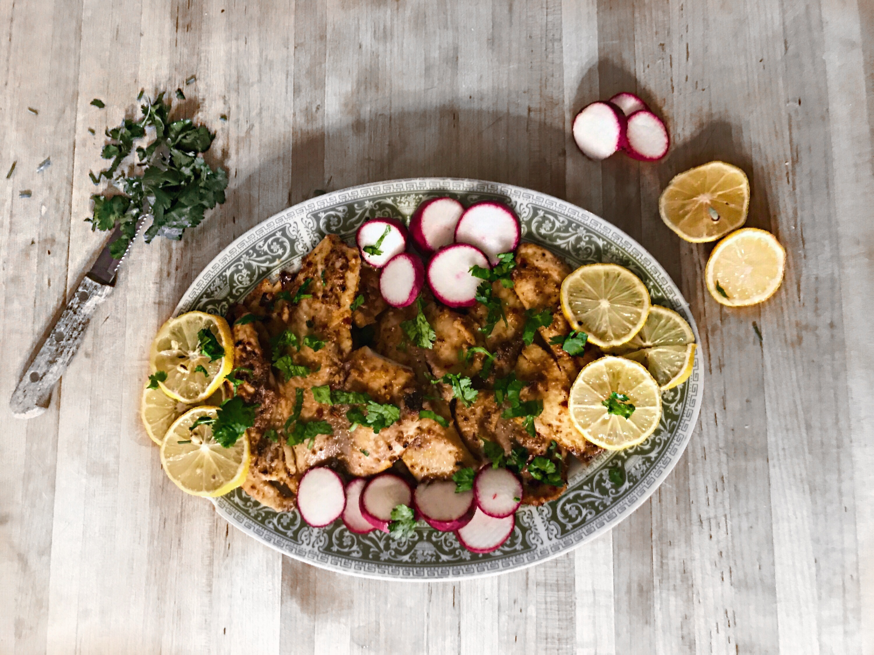 Asian Fusion Grilled Chicken