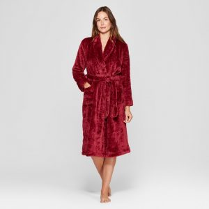 Womens Cozy Plush Robe